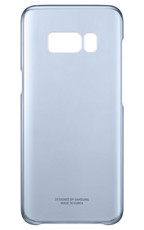 Etui Clear Cover do Galaxy S8 Niebieskie (EF-QG950CLEGWW)