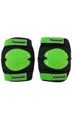 Kawasaki komplet ochraniaczy na łokcie i kolana czarno-zielone rozmiar L