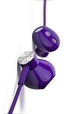 Zestaw słuchawkowy stereo Sony STH30 Fioletowy