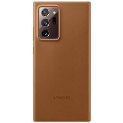 Etui Samsung Leather Cover Brązowe do Galaxy Note 20 Ultra (EF-VN985LAEGEU)