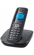 GIGASET A510 Czarny telefon stacjonarny DECT