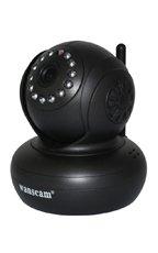 Kamera IP Bezpieczny Dom Czarna JW0004 (BD01) WiFi