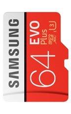 Karta pamięci Samsung MicroSDXC EVO+ 64GB class 10 + adapter MB-MC64GA/EU