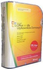 Microsoft Office 2007 dla użytkowników domowych 3 komputery