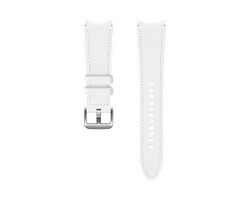 Pasek Samsung Hybrid Leather 20mm M/L Biały (ET-SHR89LWEGEU)