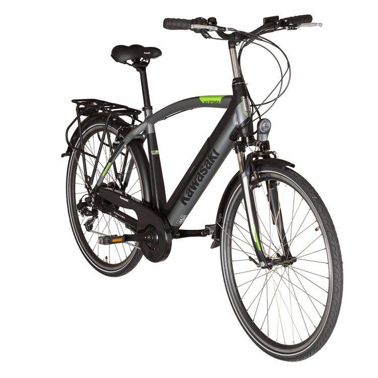 Elektryczny rower trekingowy Kawasaki Trekking Man KX-E-TREKMAN53 /OUTLET