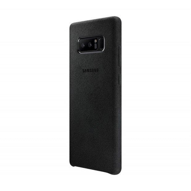 Etui Alcantara Cover do Galaxy Note 8 Czarne (EF-XN950ABEGWW)