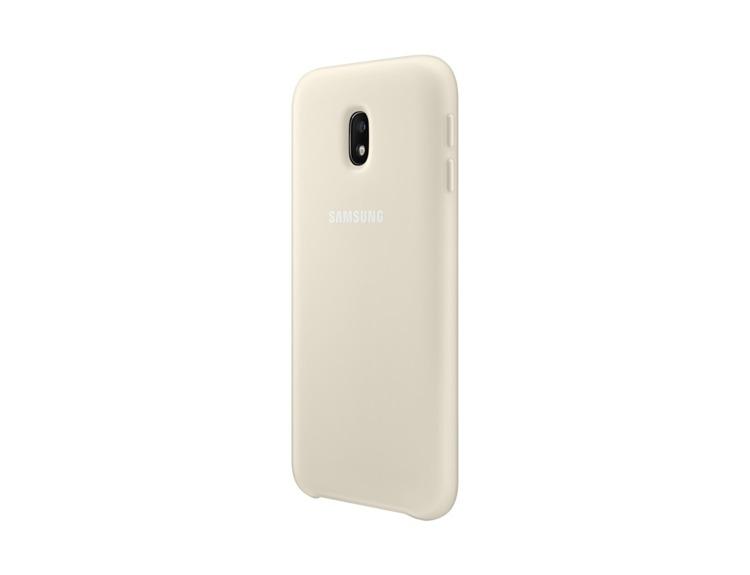 Etui Dual Layer Cover Złote do Samsung Galaxy J3 (2017) EF-PJ330CFEGWW