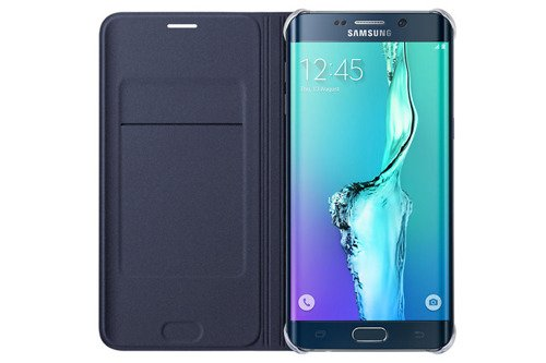 Etui Samsung Flip Wallet do Samsung Galaxy S6 edge+ Czarny EF-WG928PBEGWW