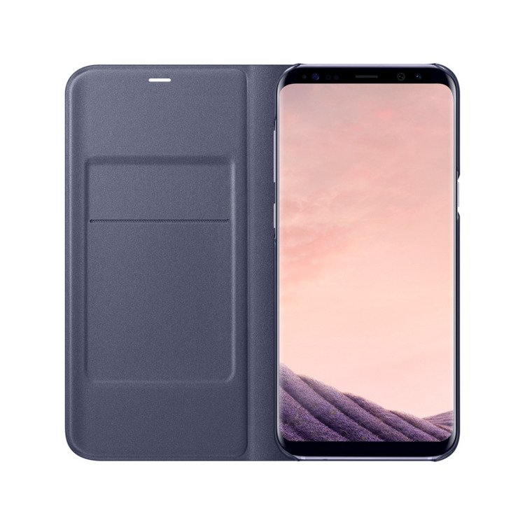 Etui LED View cover do Galaxy S8 Fioletowe (EF-NG950PVEGWW)