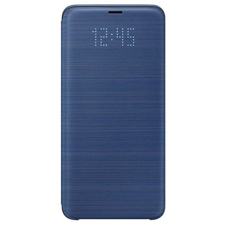 Etui LED View cover do Galaxy S9 + Niebieskie (EF-NG965PLEGWW)