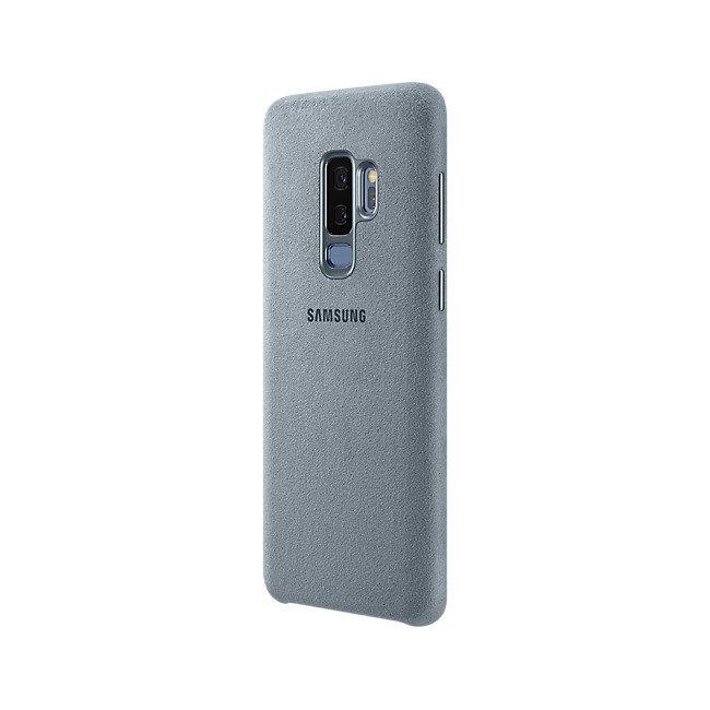 Etui Samsung Alcantara Cover do Galaxy S9+ Szare EF-XG965AMEGWW
