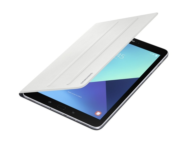 Etui Samsung Book Cover Białe do Galaxy Tab S3 (EF-BT820PWEGWW)
