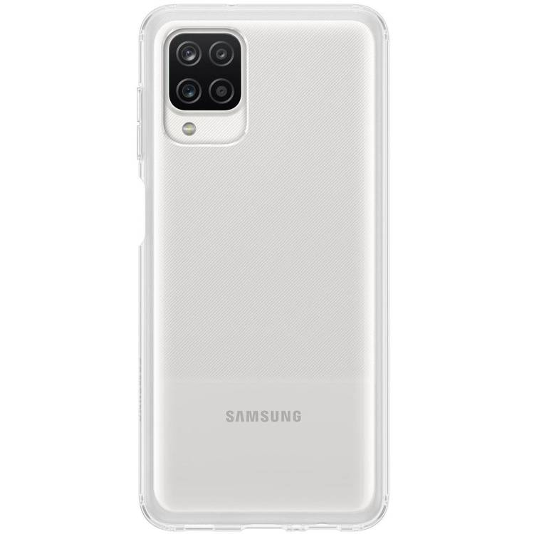 Etui Samsung CLEAR Cover Transparent do Galaxy A12 (EF-QA125TTEGEU)
