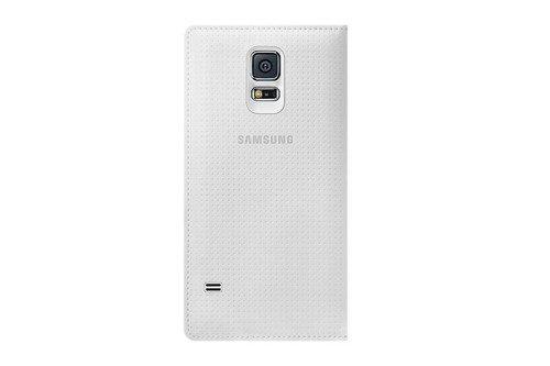 Etui Samsung Flip Wallet Białe do Galaxy S5 EF-WG900BHEGWW