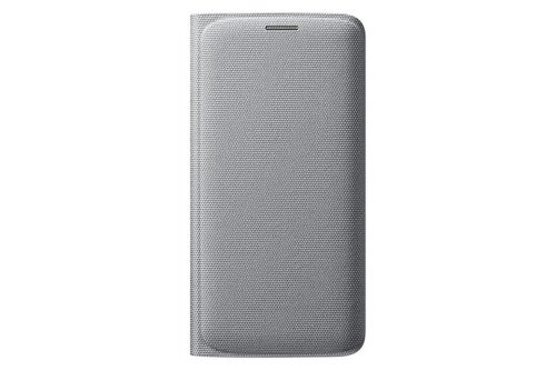 Etui Samsung Flip Wallet Srebrne do Galaxy S6 edge EF-WG925BSEGWW