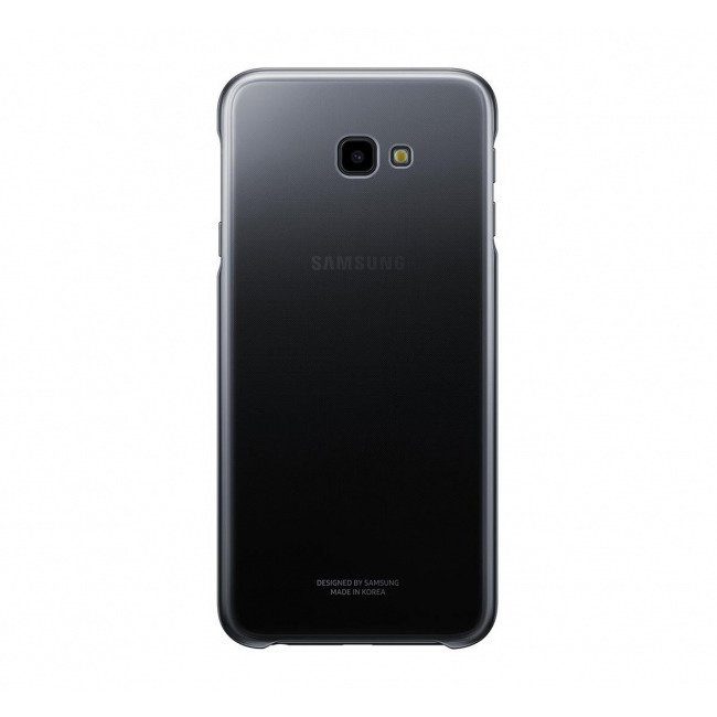 Etui Samsung Gradation Cover Czarne do Galaxy J4+ (2018) (EF-AJ415CBEGWW)