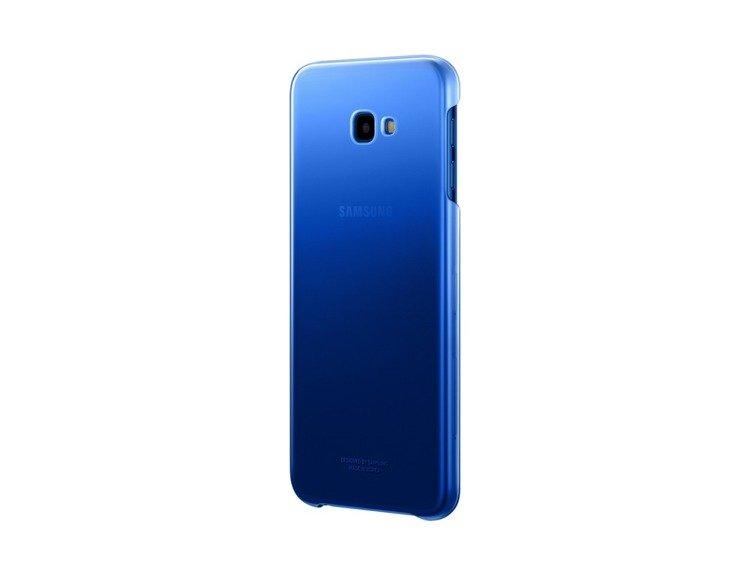 Etui Samsung Gradation Cover Niebieskie do Galaxy J4+ (2018) (EF-AJ415CLEGWW)