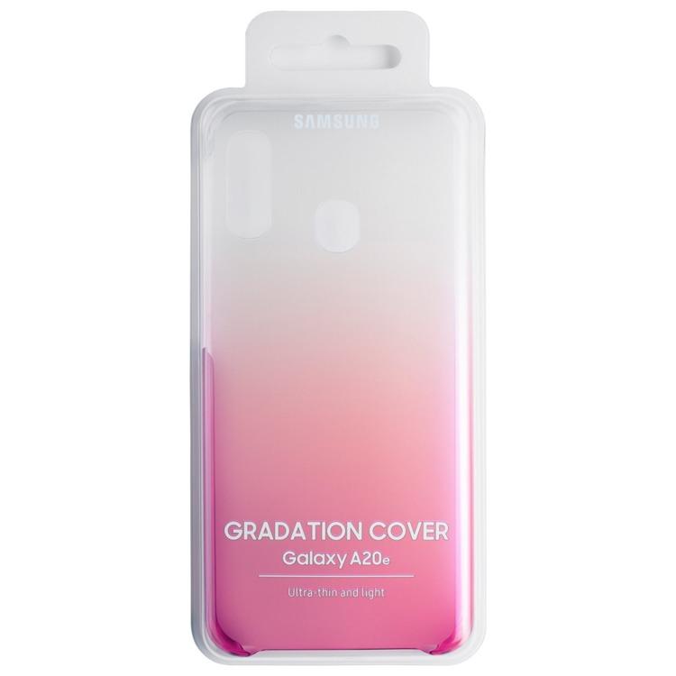 Etui Samsung Gradation Cover Różowe do Galaxy A20e (EF-AA202CPEGWW)