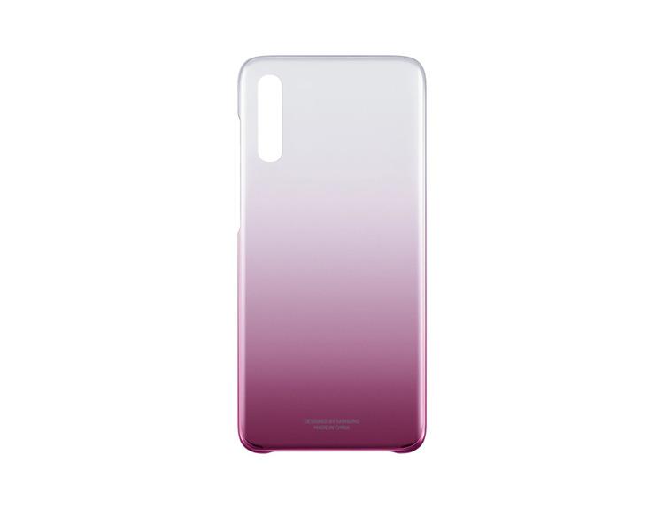 Etui Samsung Gradation Cover Różowe do Galaxy A70 (EF-AA705CPEGWW)