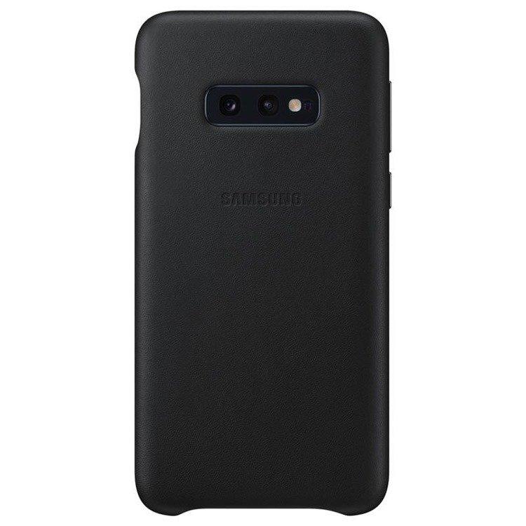 Etui Samsung Leather Cover Czarny do Galaxy S10e (EF-VG970LBEGWW)