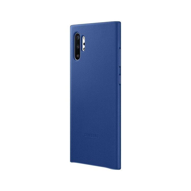 Etui Samsung Leather Cover Niebieski do Galaxy Note 10+ (EF-VN975LLEGWW)