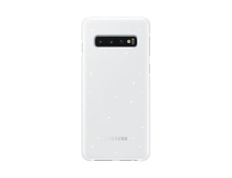 Etui Samsung Led Cover Biały do Galaxy S10 (EF-KG973CWEGWW)