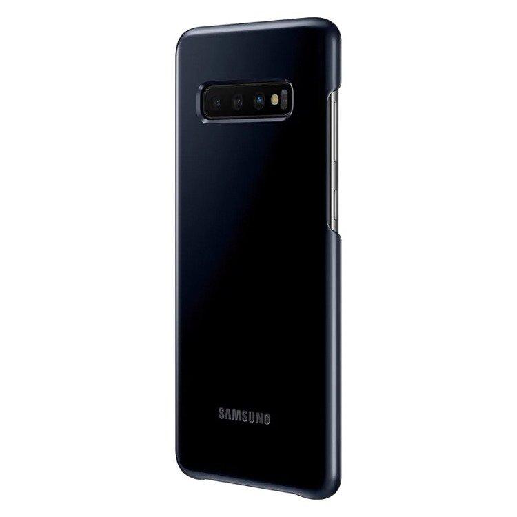 Etui Samsung Led Cover Czarny do Galaxy S10+ (EF-KG975CBEGWW)