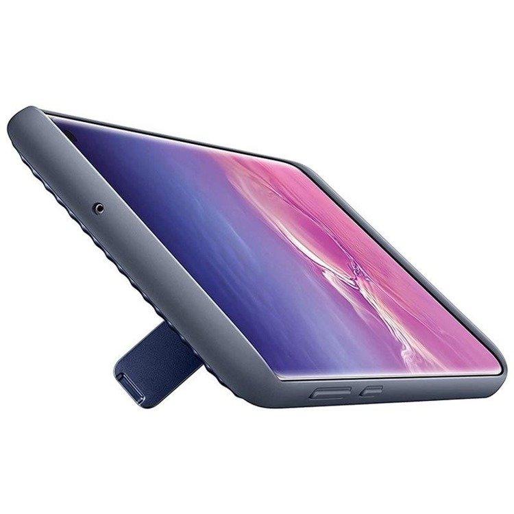 Etui Samsung Protective Standing Cover Czarny do Galaxy S10+ (EF-RG975CBEGWW)