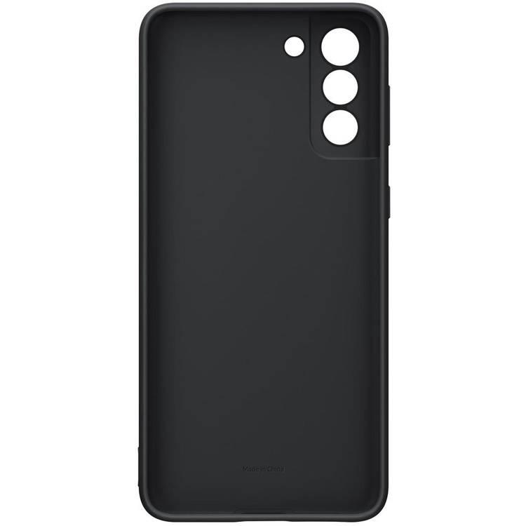 Etui Samsung Silicone Cover Czarny do Galaxy S21+ / S21+ 5G (EF-PG996TBEGWW)