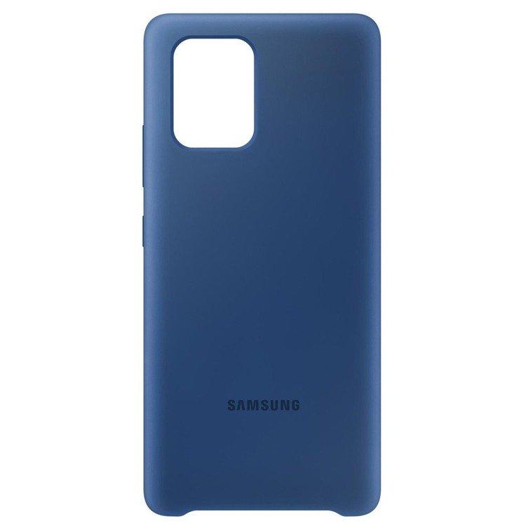 Etui Samsung Silicone Cover Niebieski do Galaxy S10 Lite (EF-PG770TLEGEU)