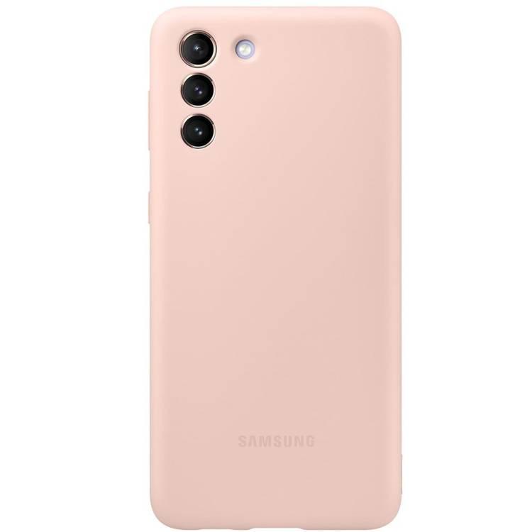 Etui Samsung Silicone Cover Różowy do Galaxy S21+ / S21+ 5G (EF-PG996TPEGWW)
