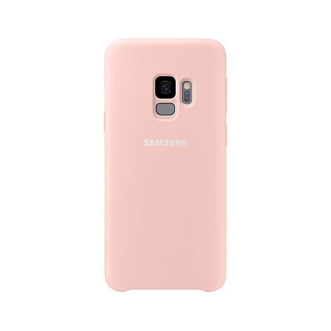Etui Samsung Silicone Cover do Galaxy S9 Różowe EF-PG960TPEGWW