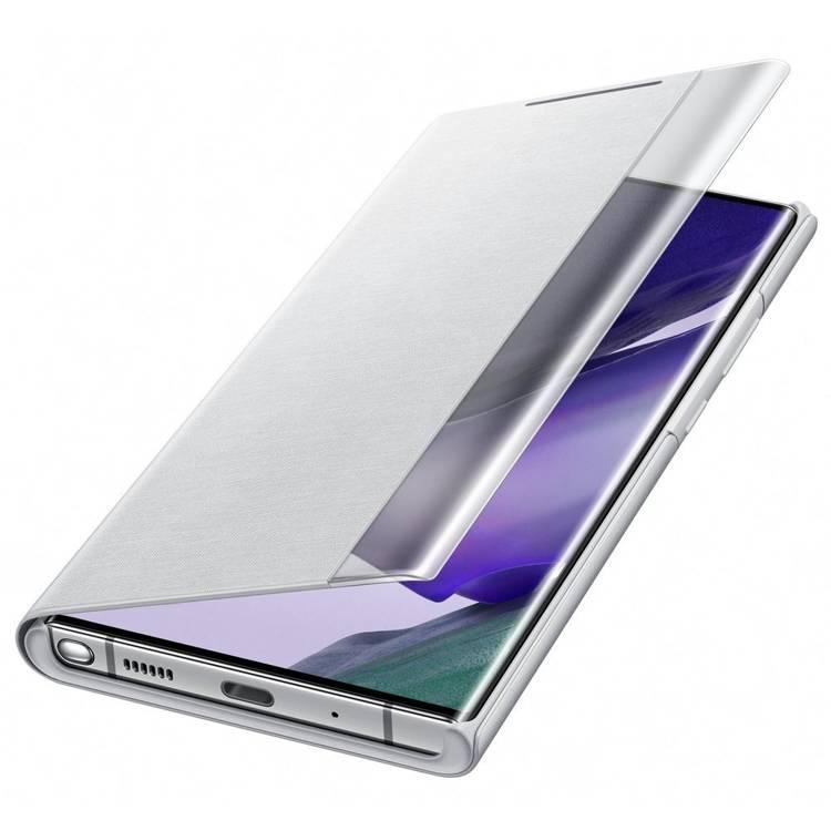 Etui Samsung Smart CLEAR View Cover Srebrny do Galaxy Note 20 Ultra (EF-ZN985CSEGEU)