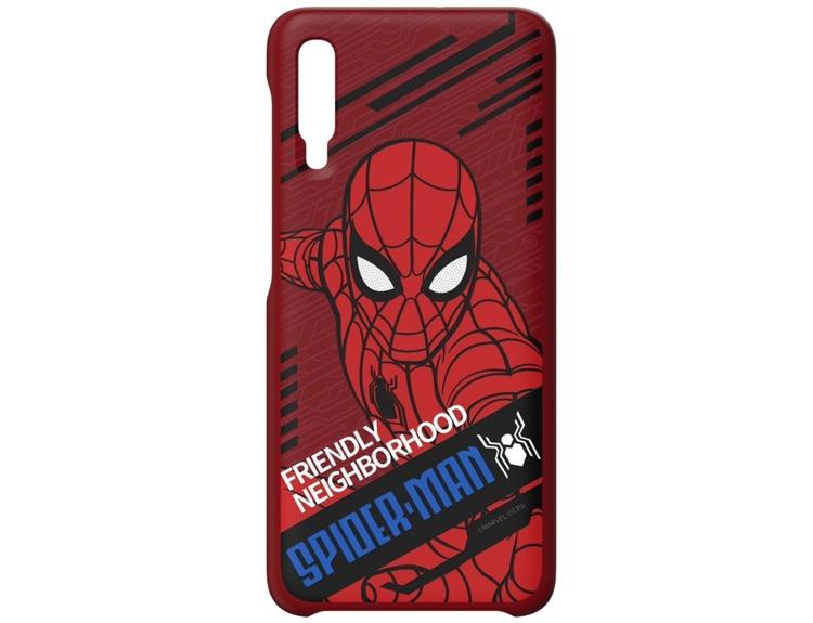 Etui Samsung Smart Cover Spiderman Dynamic do Galaxy A70 (GP-FGA705HIDRW)