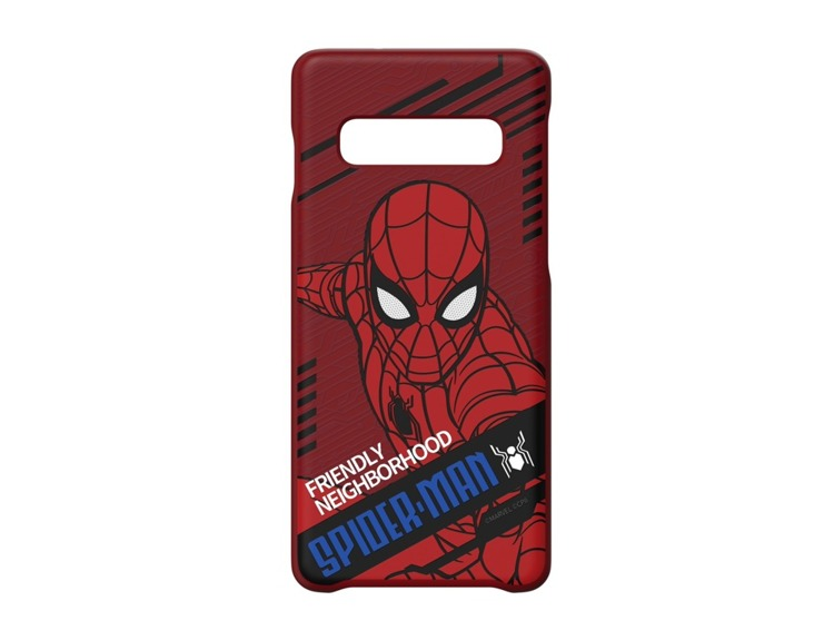 Etui Samsung Smart Cover Spiderman Dynamic do Galaxy S10+ (GP-G975HIFGLWA)