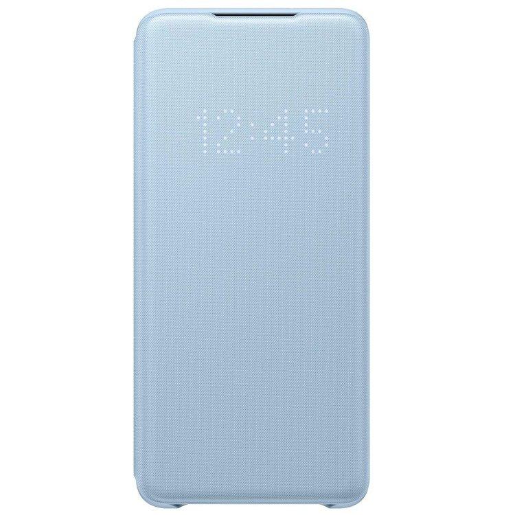 Etui Samsung Smart LED View Cover Niebieski do Galaxy S20 (EF-NG980PLEGEU)