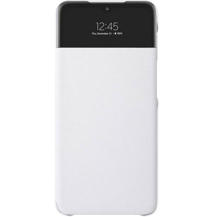 Etui Samsung Smart S View Wallet Cover Białe do Galaxy A32 (EF-EA326PWEGEW)