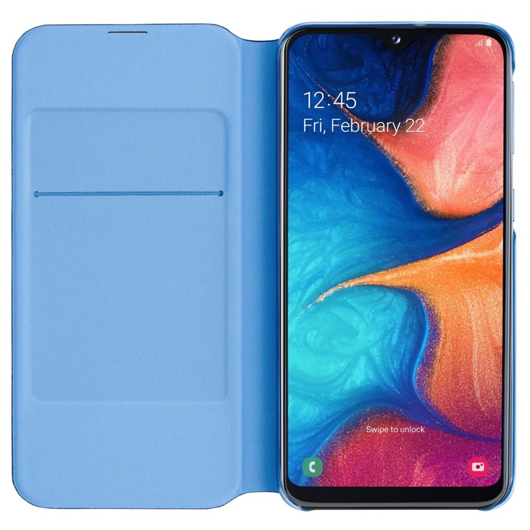 Etui Samsung Wallet Cover Czarne do Galaxy A20e (EF-WA202PBEGWW)