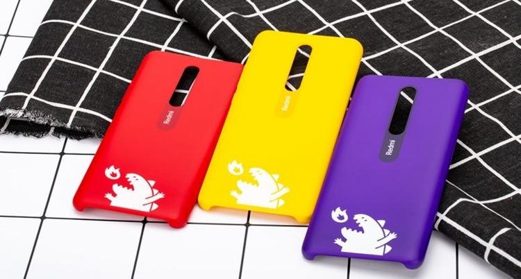 Etui oryginalne Xiaomi Monster Hard Case Yellow do Xiaomi Mi 9T żółte