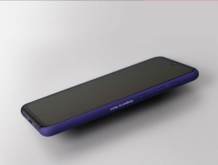Etui oryginalne Xiaomi Street Style Hard Case Purple do Xiaomi Mi 9 SE fioletowe