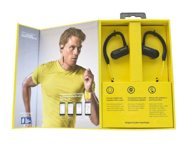 Jabra SPORT PACE Żółte słuchawki BT Stereo