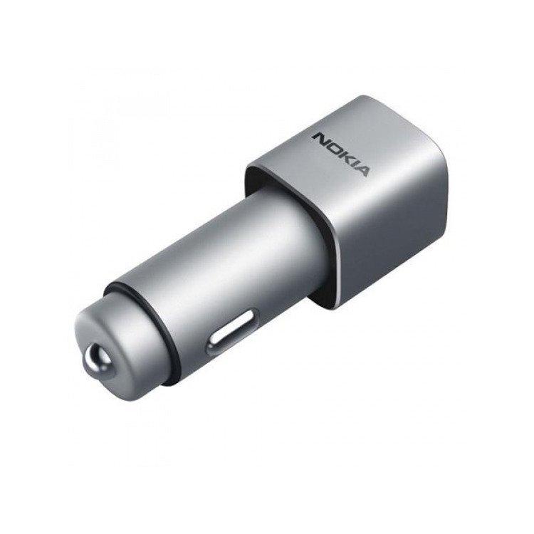Ładowarka samochodowa Nokia DC-801 dual USB Quick Charge 3.0