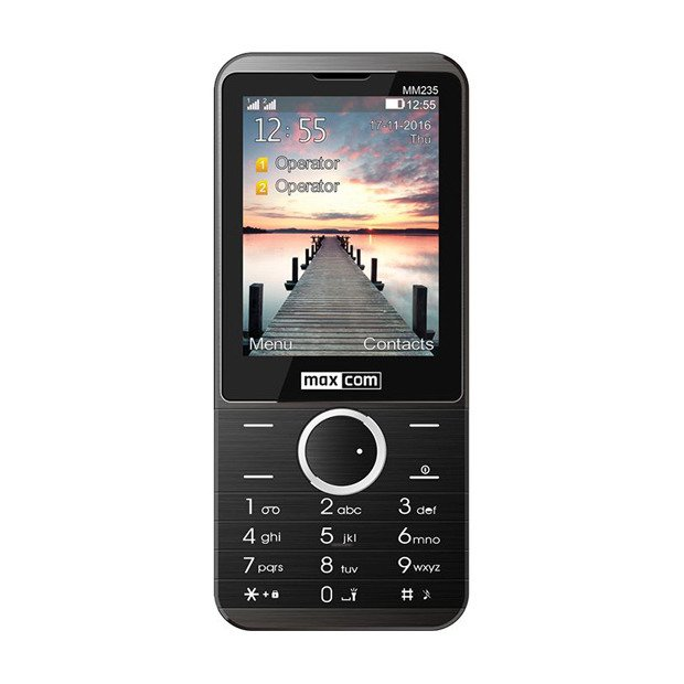 MAXCOM Classic MM235 Dual SIM Czarny