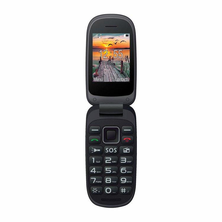 MAXCOM Comfort MM818 Dual SIM Czarno-Niebieski