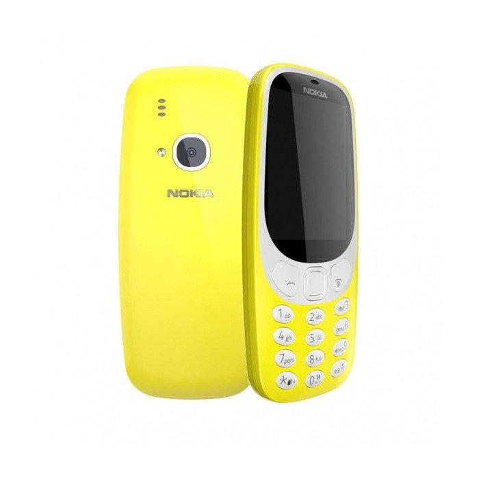NOKIA 3310 Dual SIM Żółta