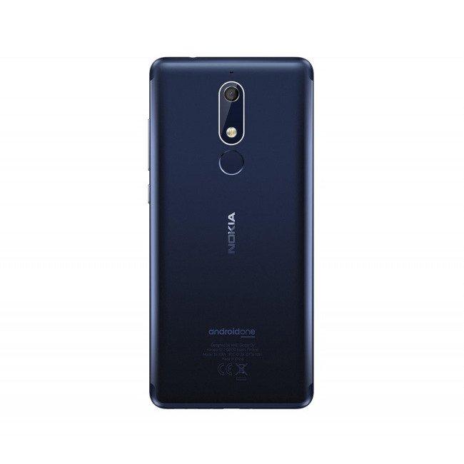 NOKIA 5.1 Dual SIM Niebieska 2/16GB LTE