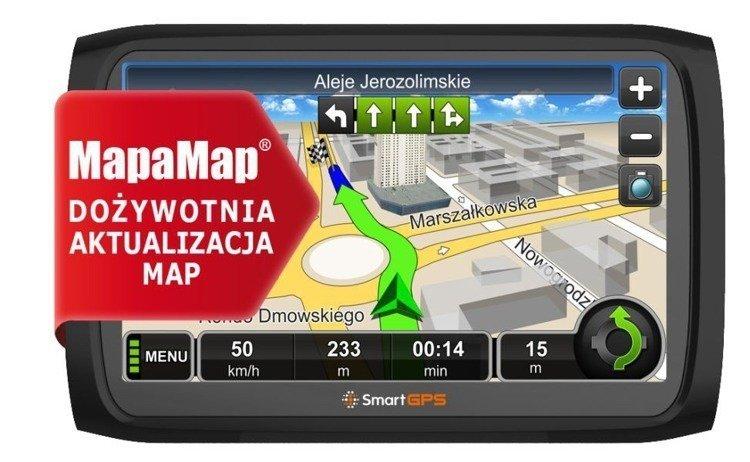 Nawigacja samochodowa SmartGPS SG720 MM TOP PL LTM