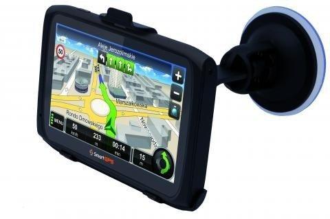 Nawigacja samochodowa SmartGPS SG720 MapaMap TOP PL
