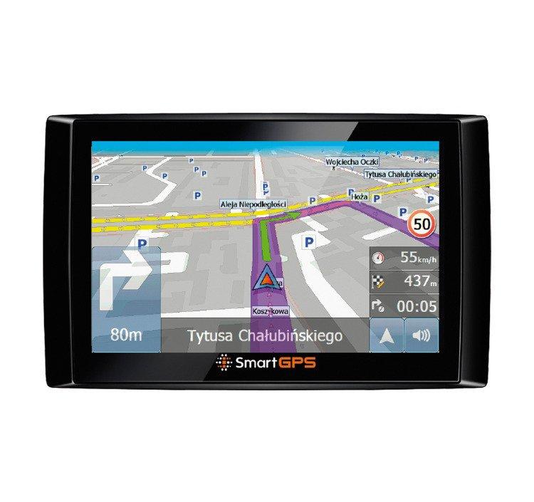 Nawigacja samochodowa SmartGPS SG732 OpenStreetMap PL